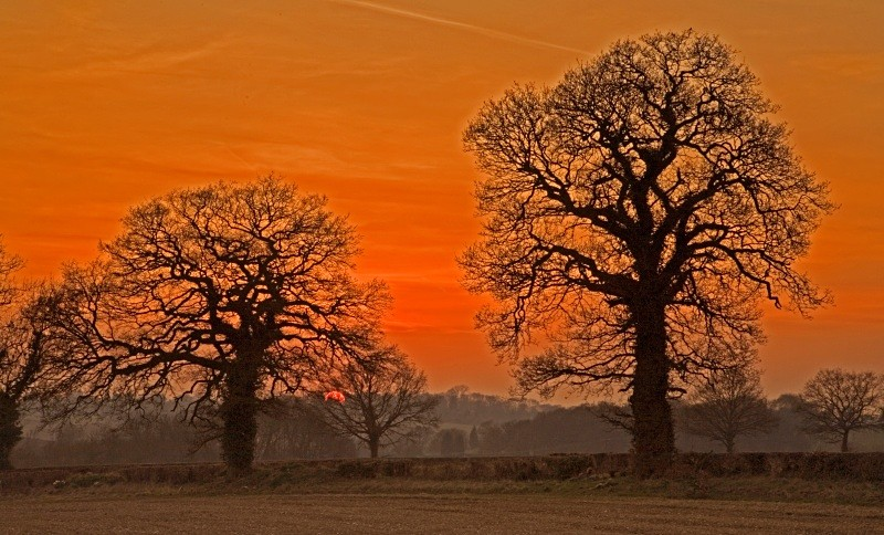 A local sunset - Kings Langley set