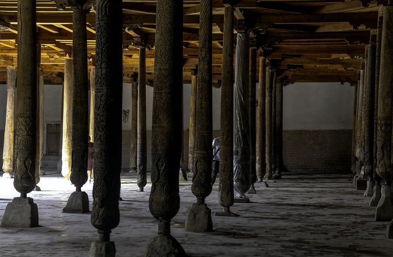 The Mosque of Wooden Pillars - UZBEKISTAN Silk Routes