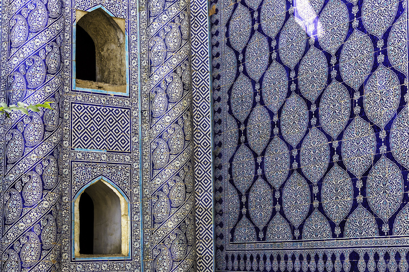 Blue Tiles - UZBEKISTAN Silk Routes