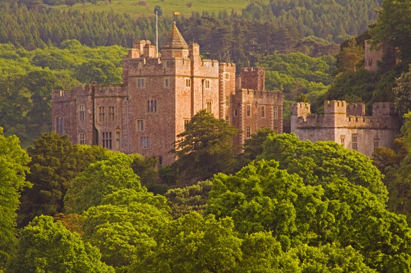 Dunster Castle from Conygar - The Best Images