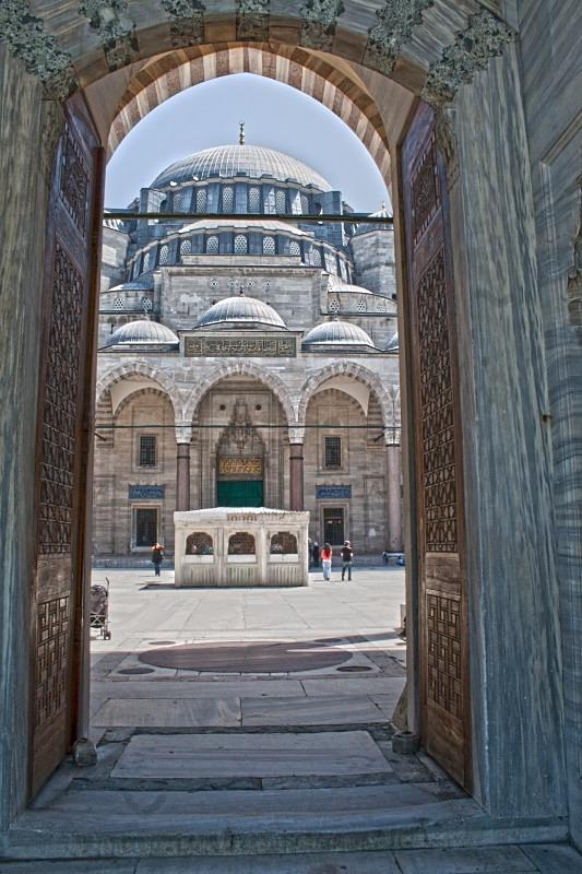 Sulymaniye Mosque, Istanbul - TRAVEL PHOTOGRAPHY: TURKEY