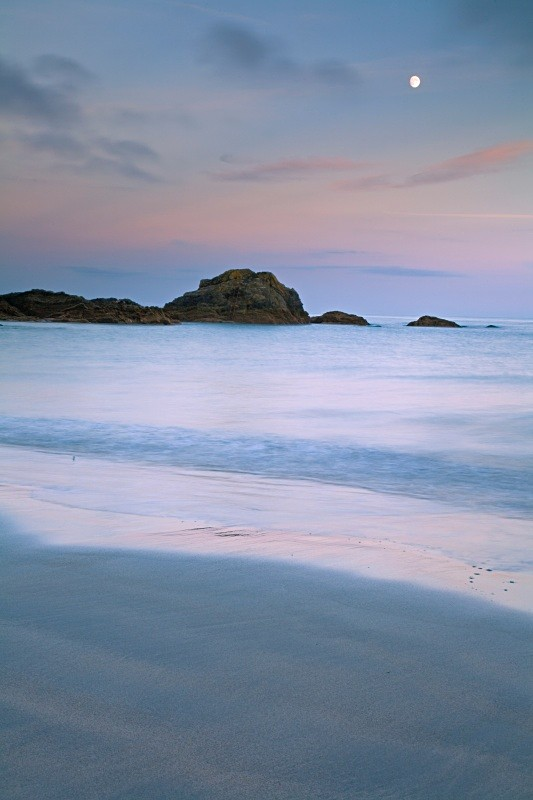 Sea, Sand and Moon - CORNWALL