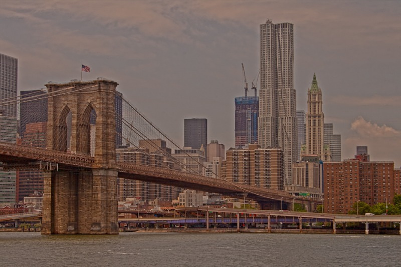 The Bridge and the City - New York