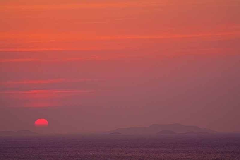 Sunset over the Summer Isles - Scotland