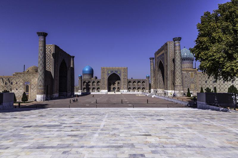 Registan Samarkand - UZBEKISTAN Silk Routes