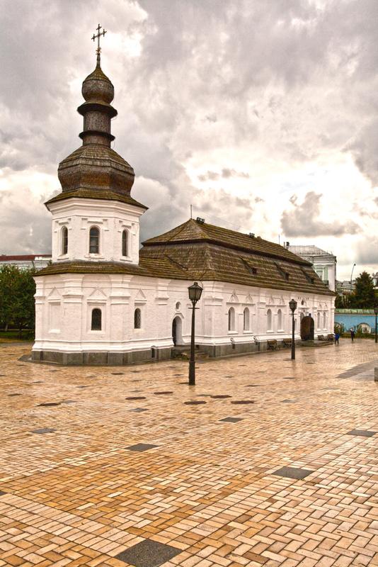 Kiev's first St Sophia - Kiev: Ukraine