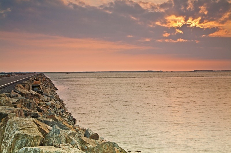Causeway Sunset - The Uists