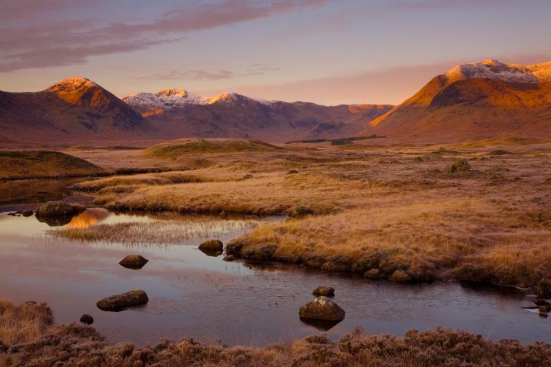 Rannoch Dawn - Scotland