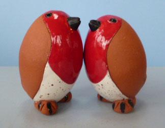 pottery robin
