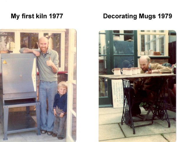 First Kiln / Decorating - Archive Images