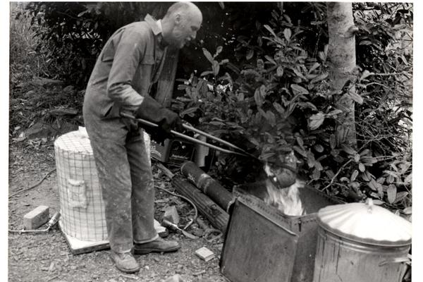 Raku Firing 1991 - Archive Images