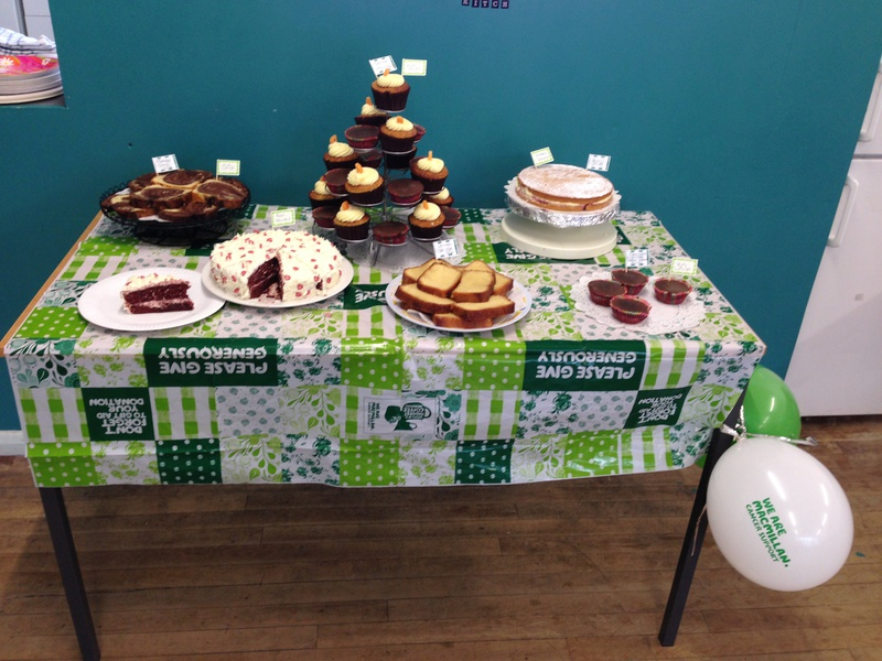 - Bedfordshire Youth Association's MacMillan Coffee Morning