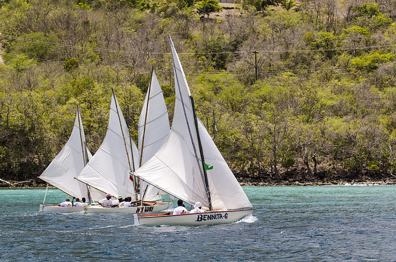 DSC_4843 - Saturdays racing - Local Double Enders - Bequia Easter Regatta 2016