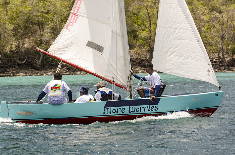 DSC_4891 - Saturdays racing - Local Double Enders - Bequia Easter Regatta 2016