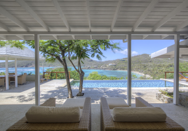 Crescent Beach Villa, Bequia, Looking Out