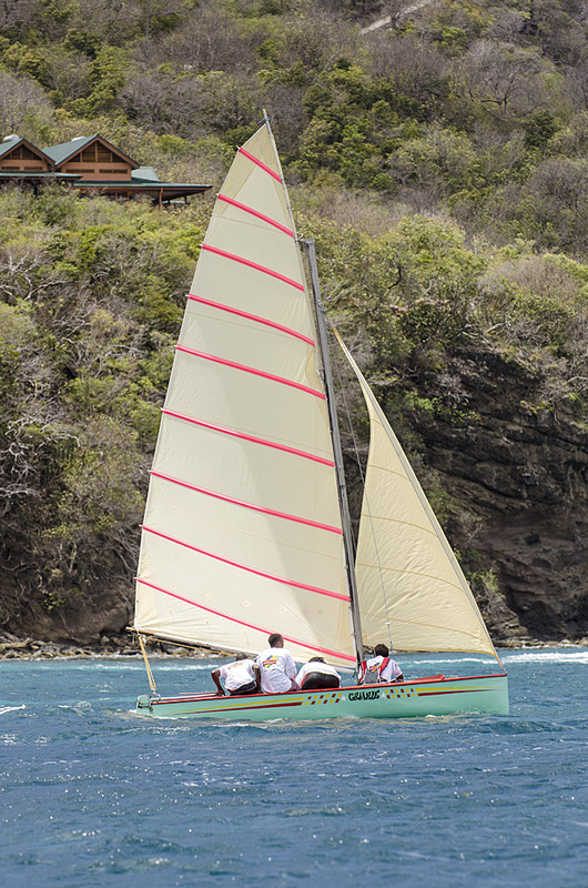 DSC_4895 - Saturdays racing - Local Double Enders - Bequia Easter Regatta 2016