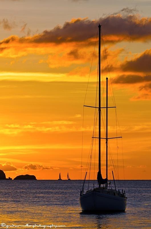 Golden Sunset over Admiralty Bay, Bequia