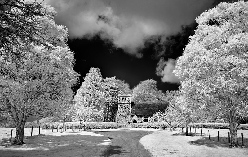 St Stephens, Pamphill - Infrared