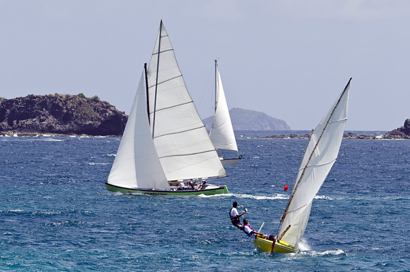 Bequia Easter Regatta_Heineken Challenge - Local Fishing Boats_grw_907 - Saturday - Heineken Challenge - Local Fishing Boats