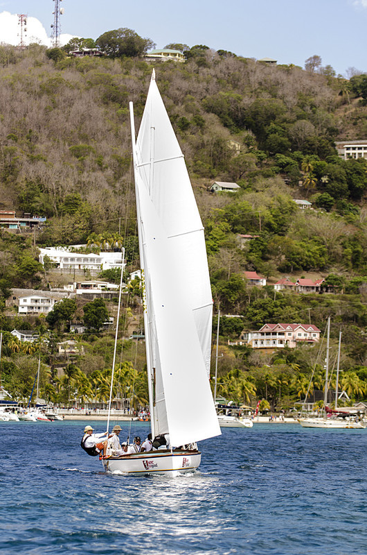 DSC_4591 - Fridays racing - Local Double Enders - Bequia Easter Regatta 2016