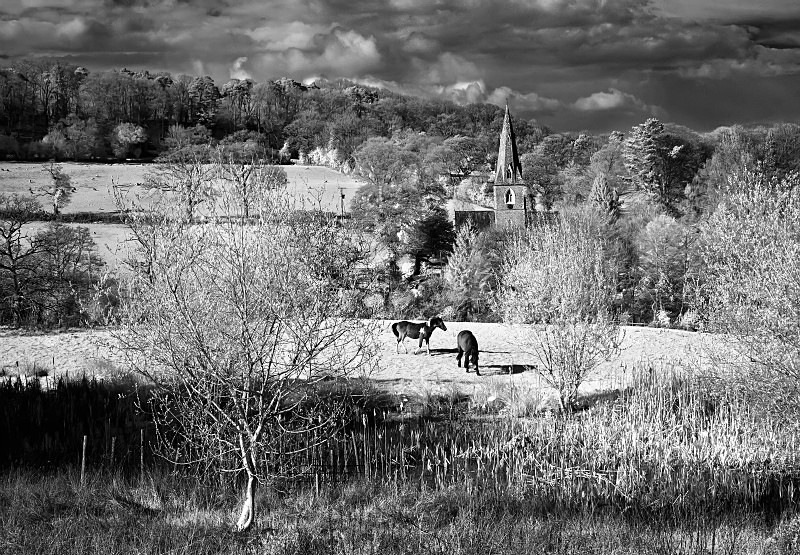 St Andrews, Monkton Wyld - Infrared