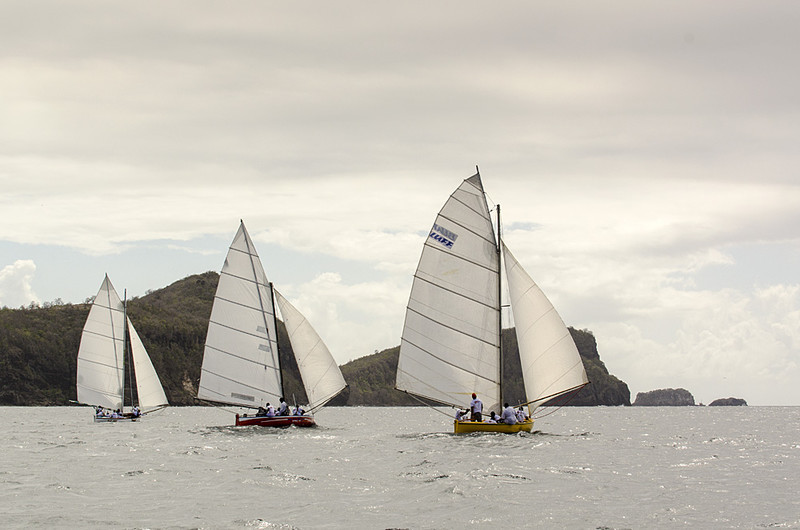 DSC_4618 - Fridays racing - Local Double Enders - Bequia Easter Regatta 2016