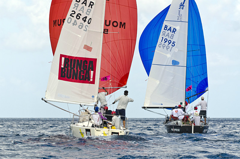 Bequia Easter Regatta_Sat am - Racing Surprise Crusing 1  2_GRW_8512 - Saturday Morning Racing - J24, Surprise, Racing, Crusing 1 & 2