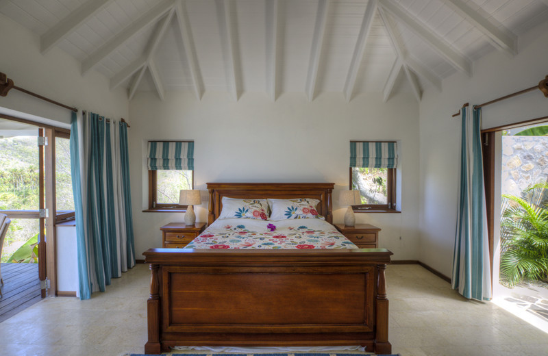 Crescent Beach Villa, Bequia, Master Bedroom