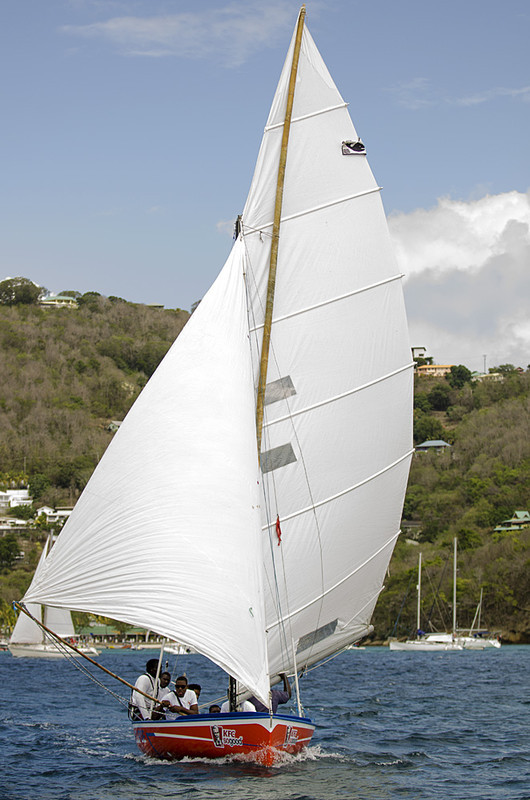 DSC_4601 - Fridays racing - Local Double Enders - Bequia Easter Regatta 2016