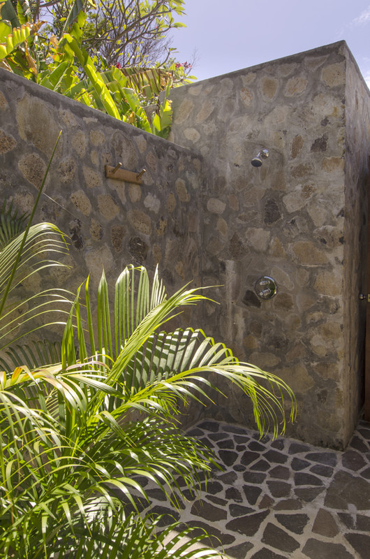 Crescent Beach Villa, Bequia, Outdoor Shower