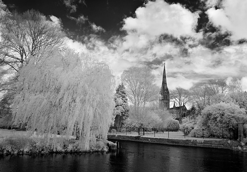 Salisbury Cathedral - Infrared