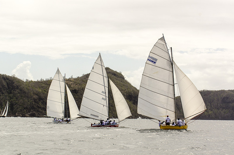 DSC_4615 - Fridays racing - Local Double Enders - Bequia Easter Regatta 2016