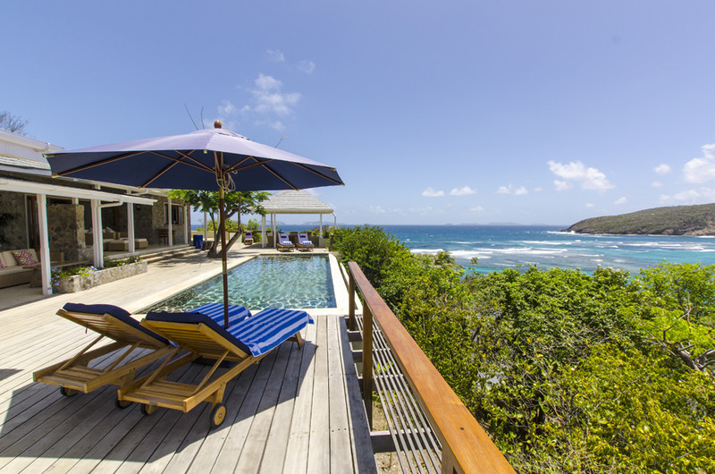 Crescent Beach Villa, Overlooking the bay: 5844 - Crescent Beach Villa, Bequia