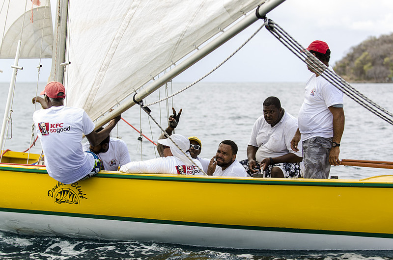 DSC_4604 - Fridays racing - Local Double Enders - Bequia Easter Regatta 2016