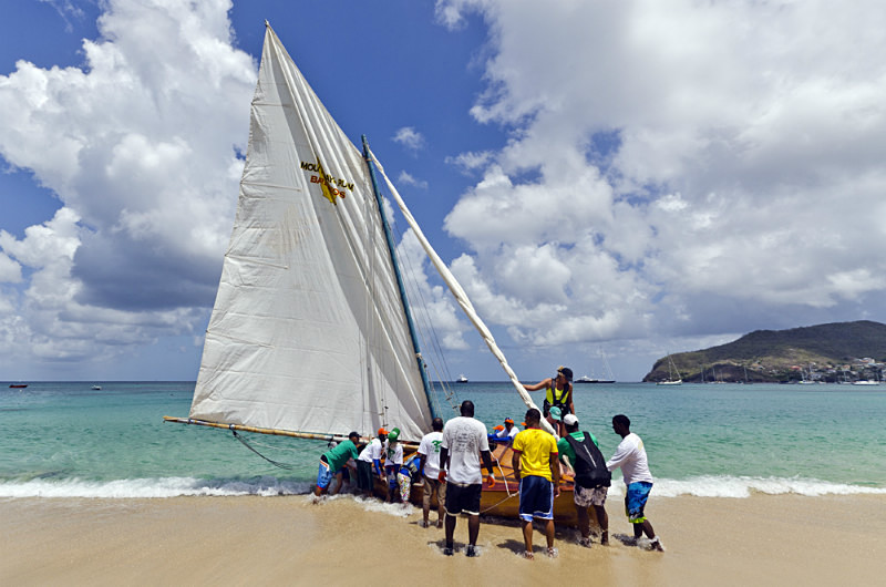 Bequia Easter Regatta_Heineken Challenge - Local Fishing Boatsgrw_8818 - Saturday - Heineken Challenge - Local Fishing Boats