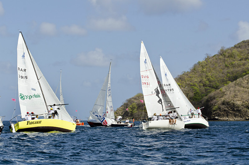 Bequia Easter Regatta_Sat am - Racing Surprise Crusing 1  2_GRW_8496 - Saturday Morning Racing - J24, Surprise, Racing, Crusing 1 & 2