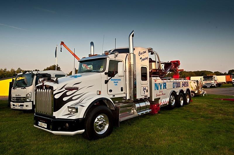 - Ice Road Truckers Alex Debogorski & Lisa Kelly at Truckfest South West
