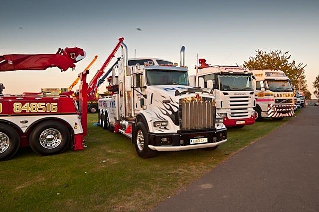 - Trucks at Truckfest Peterborough