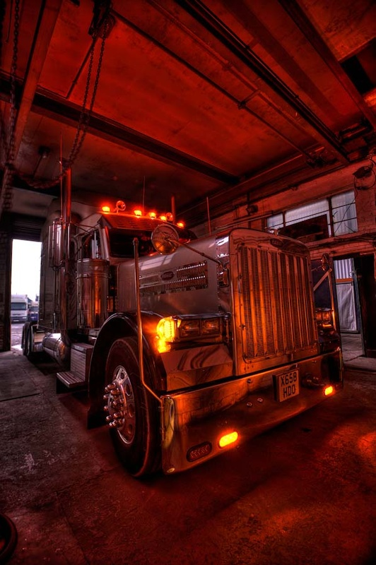 - Photos of our Peterbilt in our yard