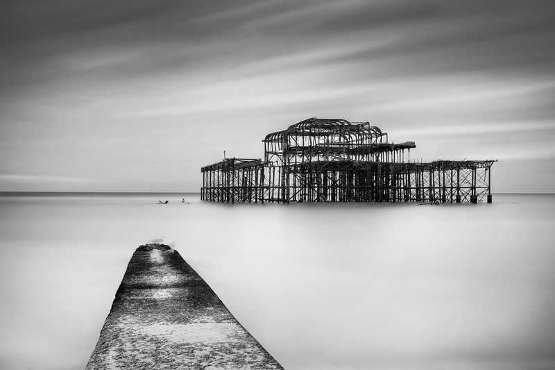 West Pier, Brighton - Between Land and Sea