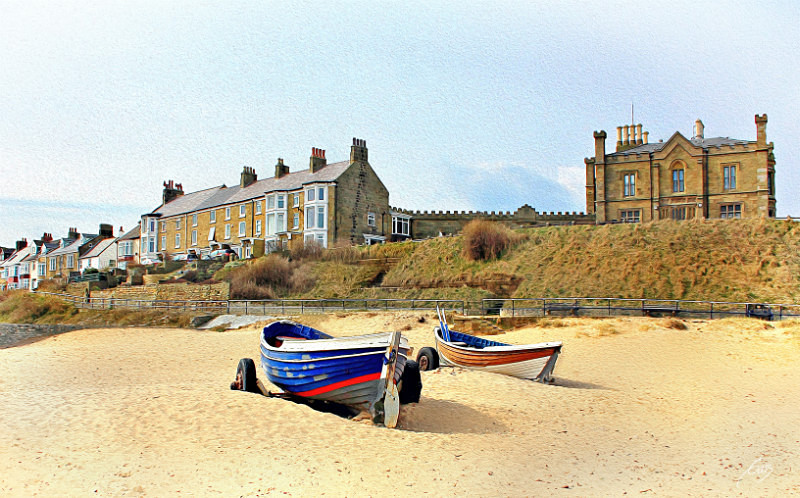 On the Beach - This is England - Coastal Towns and Villages