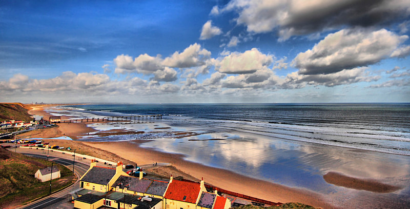 Reflections of Saltburn - This is England - Coastal Towns and Villages