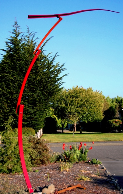 Wind Arcs - Public Sculptures