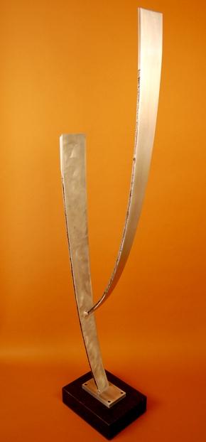 Saguaro in studio - Full Size Sculptures