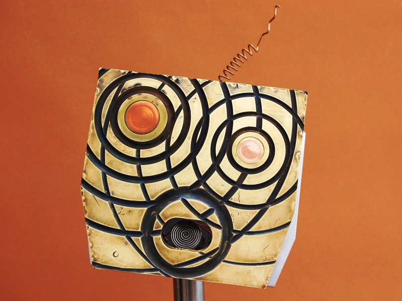 Rewired (face) - Pedestal Sculptures