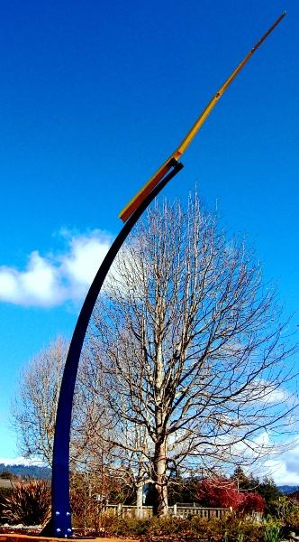 Yellow Lightning - Public Sculptures