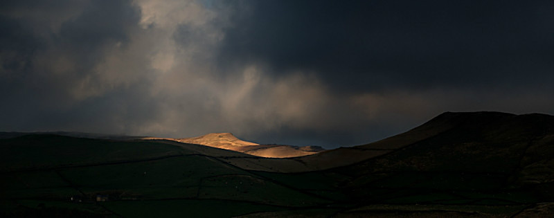 Brown Knoll, Kinder Scout - Hills and Mountains
