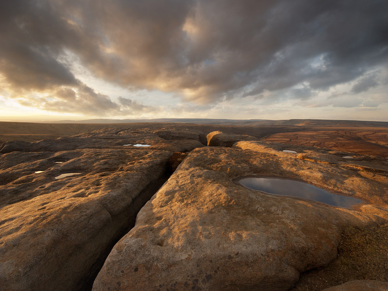 The Edge, Kinder Scout - Moors and Edges