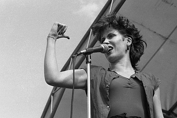 Hazel O'Connor, Slane '81 (2) - Music