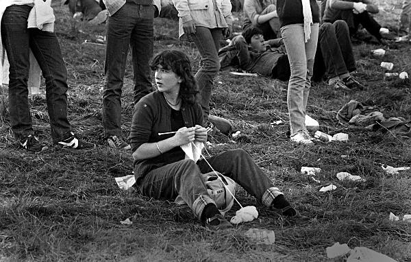 Slane81-013 - 1981 concert at Slane Castle